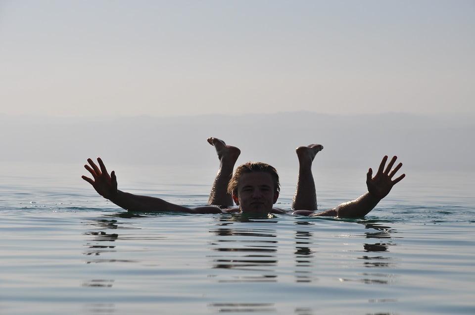 Dead Sea, float, Dead Sea Swim, swim