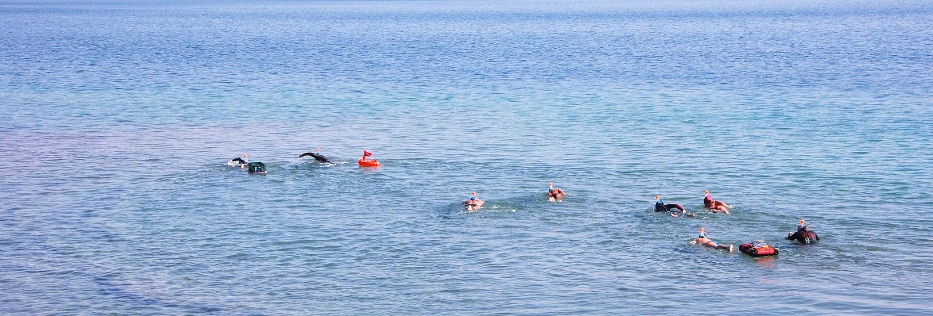 Swimming in the Dead Sea. Courtesy of DeadSeaSwim.com