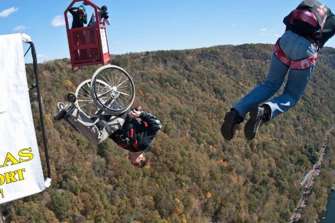 lonnie bissonnette base jump extreme athlete