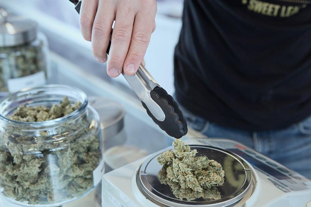 Weighing Weed via Get Budding/Unsplash