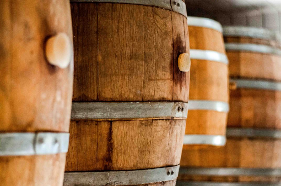 Whisky Barrels - Milk & Honey Distiller. Photo by Yifat Zohar