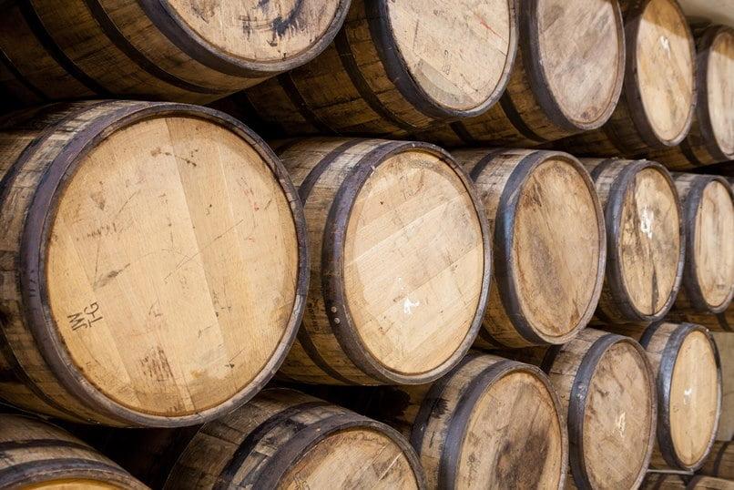 Whisky Barrels. Milk & Honey Distillery. Photo via M&H's Facebook Page