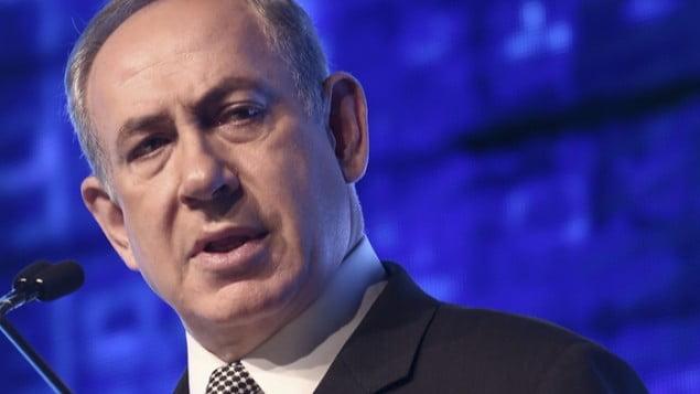 Prime Minister Benjamin Netanyahu at the CyberTech Conference in Tel Aviv in January 2017. Courtesy