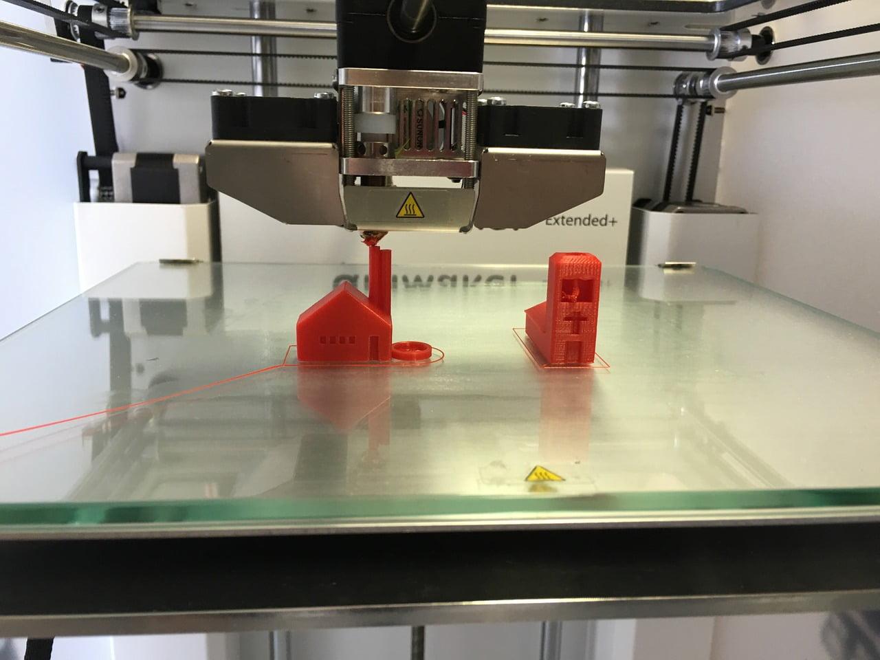 3D Printer. Courtesy of Su-Pad