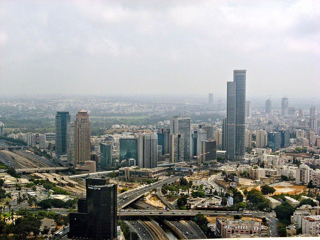 Ramat Gan, Israel via WikiCommons