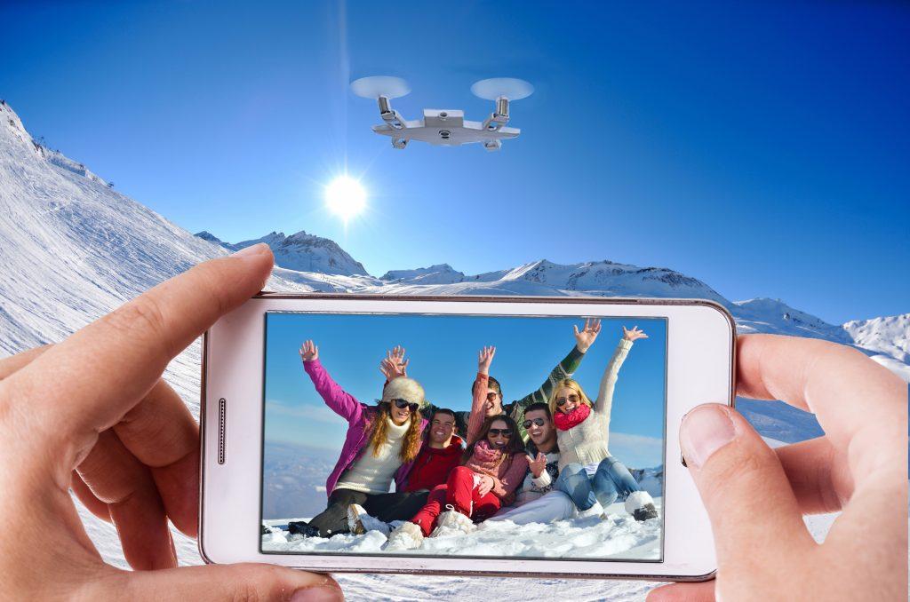 Selfie, Selfly, drone