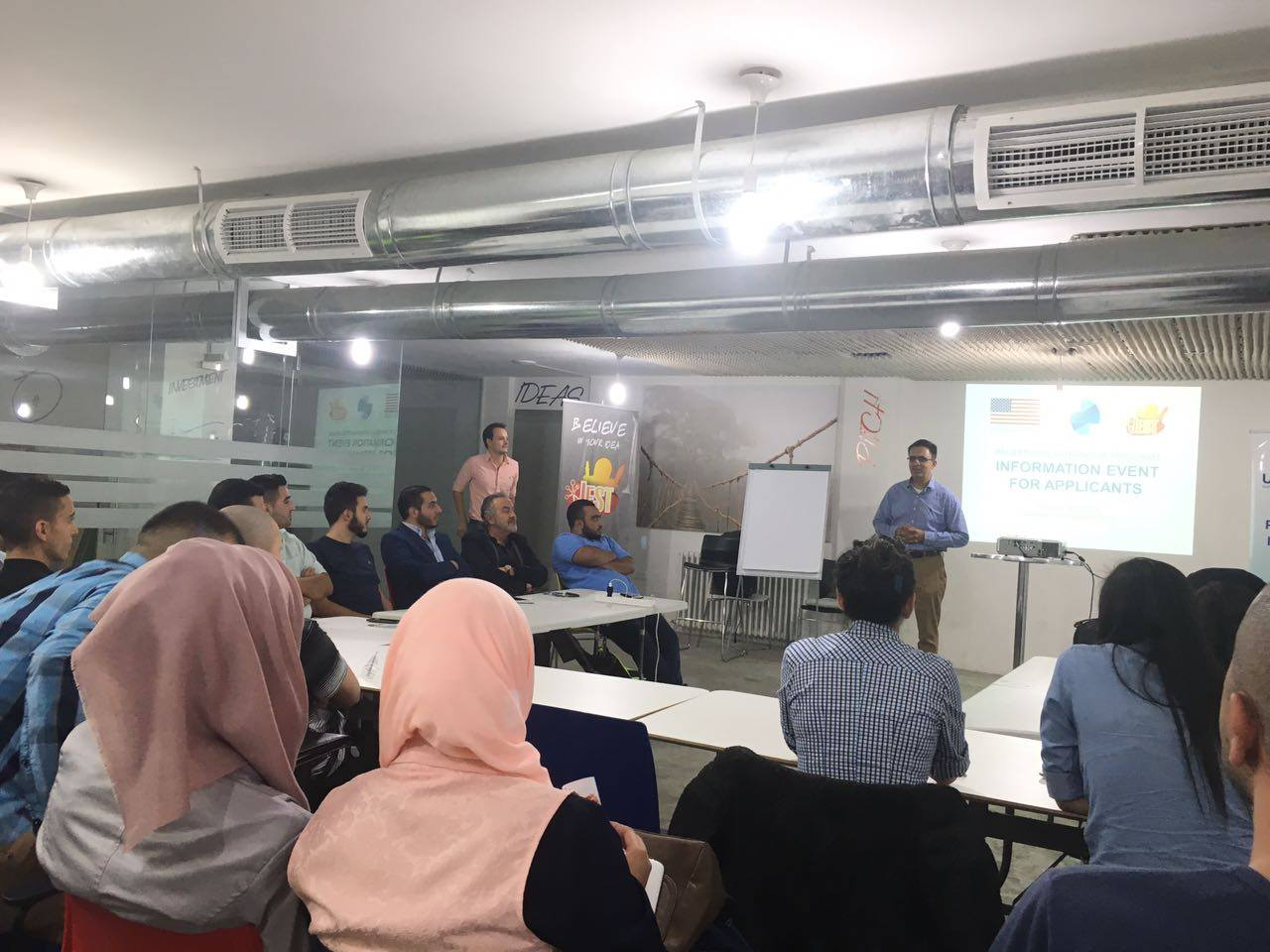 Palestinian Internship Program (PIP) interns