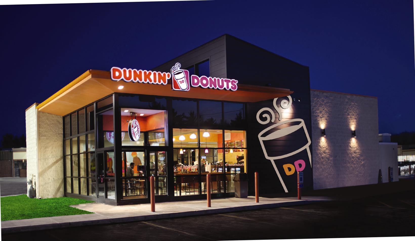 Dunkin' Donuts Restaurant. Courtesy