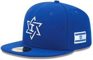 cap, baseball cap, team Israel, WBC, Israel baseball