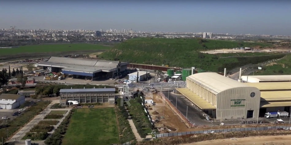 The plant will provide 20 percent of the energy needed to power Israel's Nesher cement plant. Courtesy