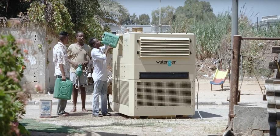 WaterGen turns air into water. Courtesy of WaterGen