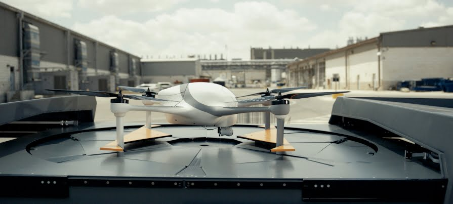Airobotics drone, courtesy