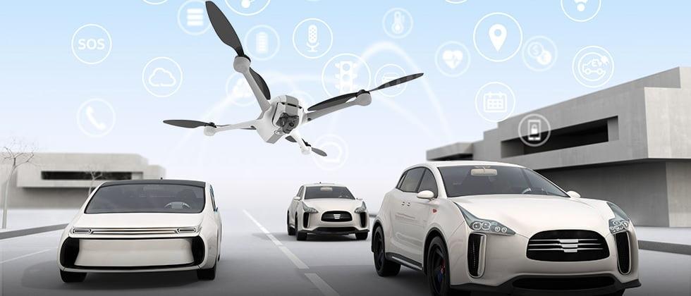 From driverless cars to autonomous drones. Courtesy of Airobotics