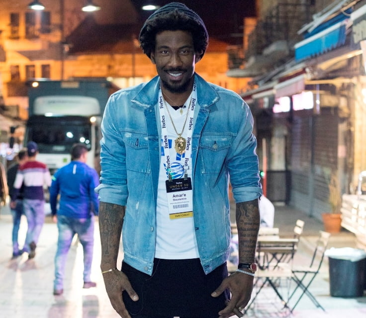 Amar'e Stoudemire is also an avid art collector and an ambassador to Sotheby's, one of the world's largest brokers of fine and decorative art, jewelry, real estate, and collectibles. Courtes
