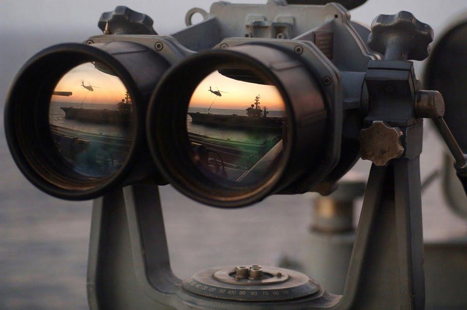 Spy Navy Recognize See Binoculars Espionage Watch via Pixabay