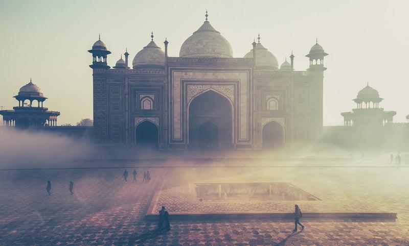 Taj Mahal via Jasveer10/Wikicommons