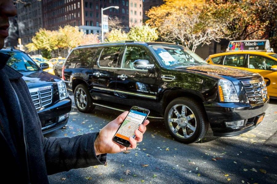Taxicab Ride Sharing App. Courtesy