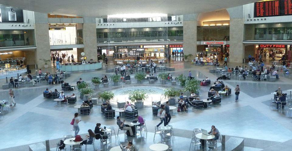 ben gurion airport departure hall