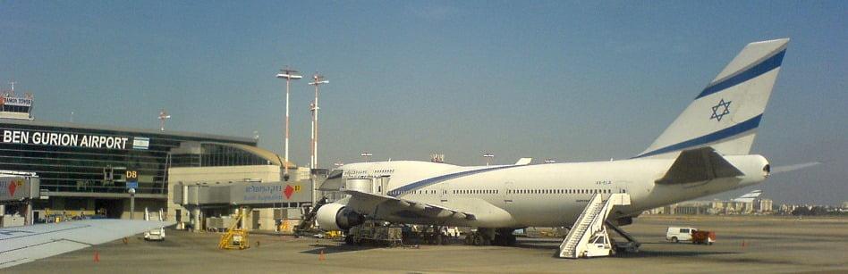 El_Al_Boeing747-400_at_TLV Ben Gurion Airport