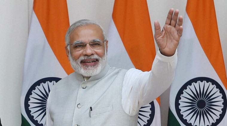 Narendra Modi, India's Prime Minister. Courtesy