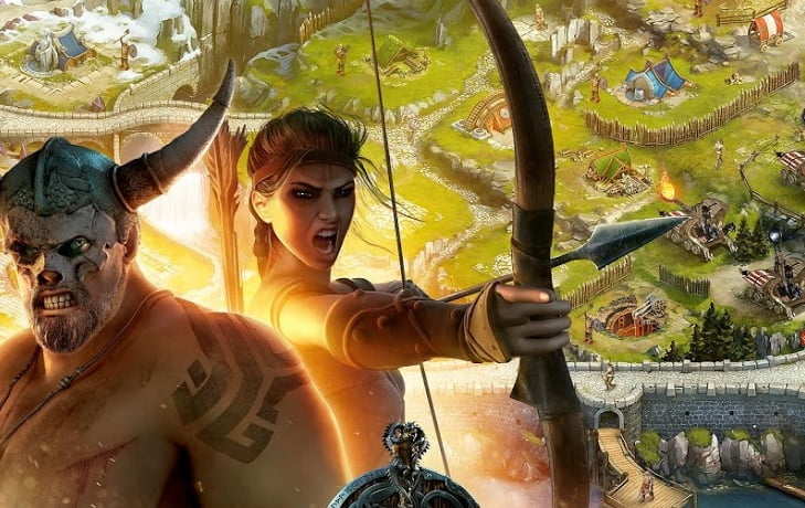 vikings war of clans by plarium. courtesy