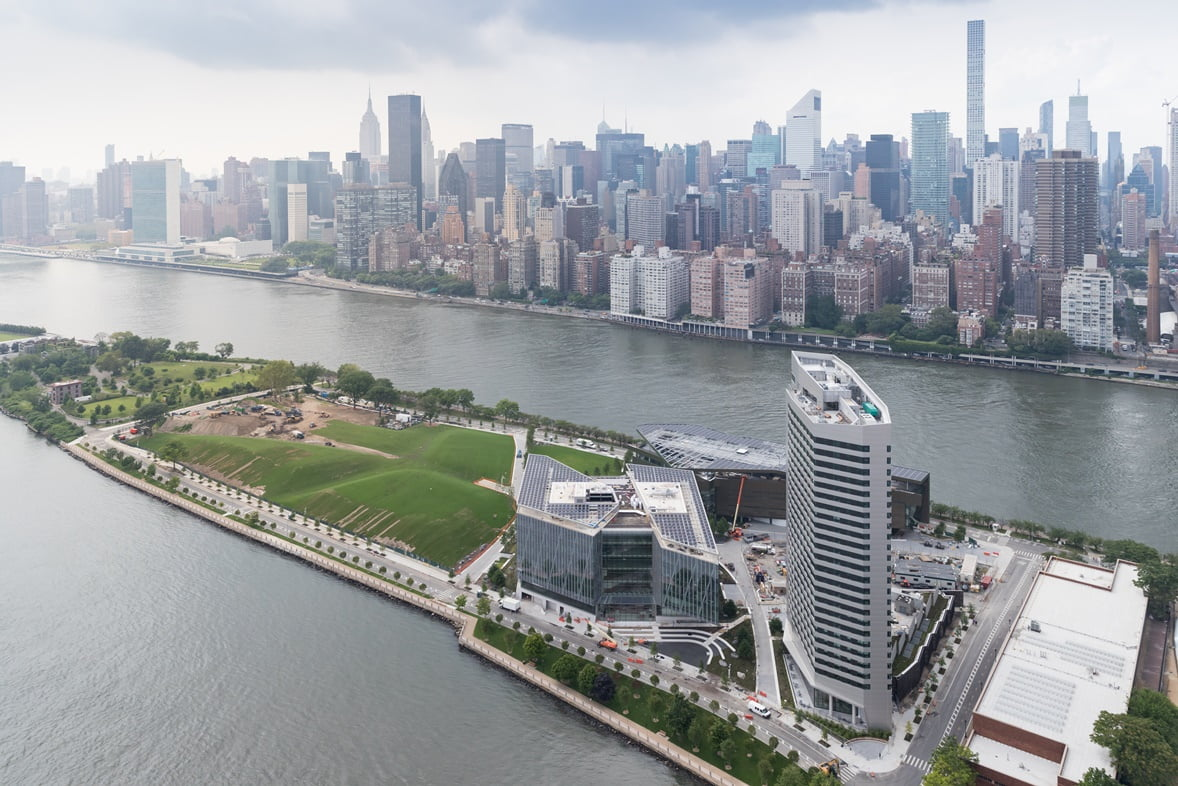 New Cornell Tech campus, home of the Jacobs Technion-Cornell Institute. Photo by Iwan Baan