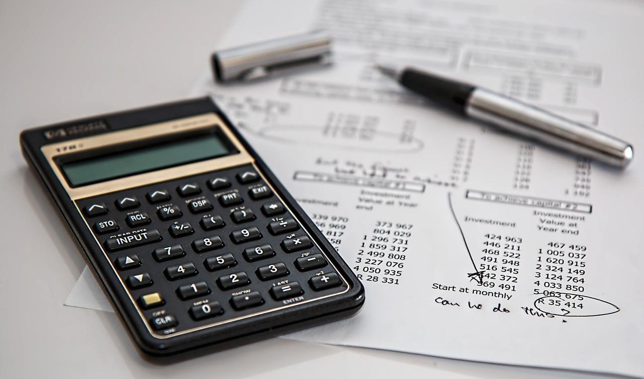 Calculator, Insurance. Courtesy