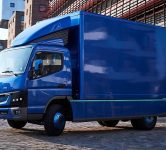Daimler's electric truck - Fuso Canter E-Cell