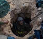 IDF soldiers in a tunnel