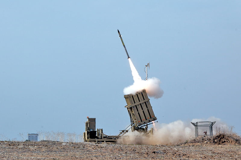 Iron Dome anti-missile system via Wikimedia