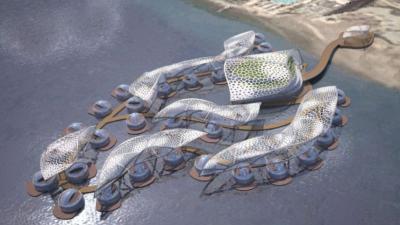 underwater hotel eilat Daniel Libeskind