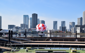 RT deployed their Skystar 180 balloon during the annual Tokyo Marathon in February.  Courtesy