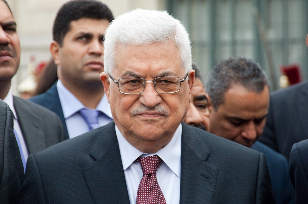 Palestinian Authority President Mahmoud Abbas. Photo by Olivier PacteauCC via Flickr