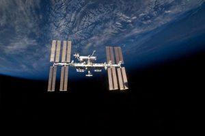 The International Space Station. Courtesy, NASA