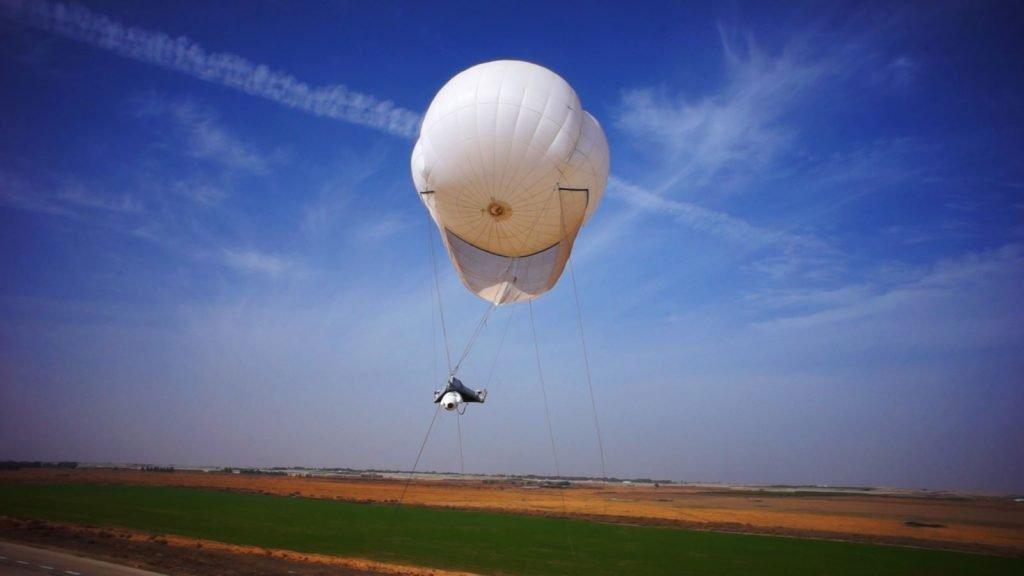 skystar rt aerostats systems surveillance balloon.  Courtesy