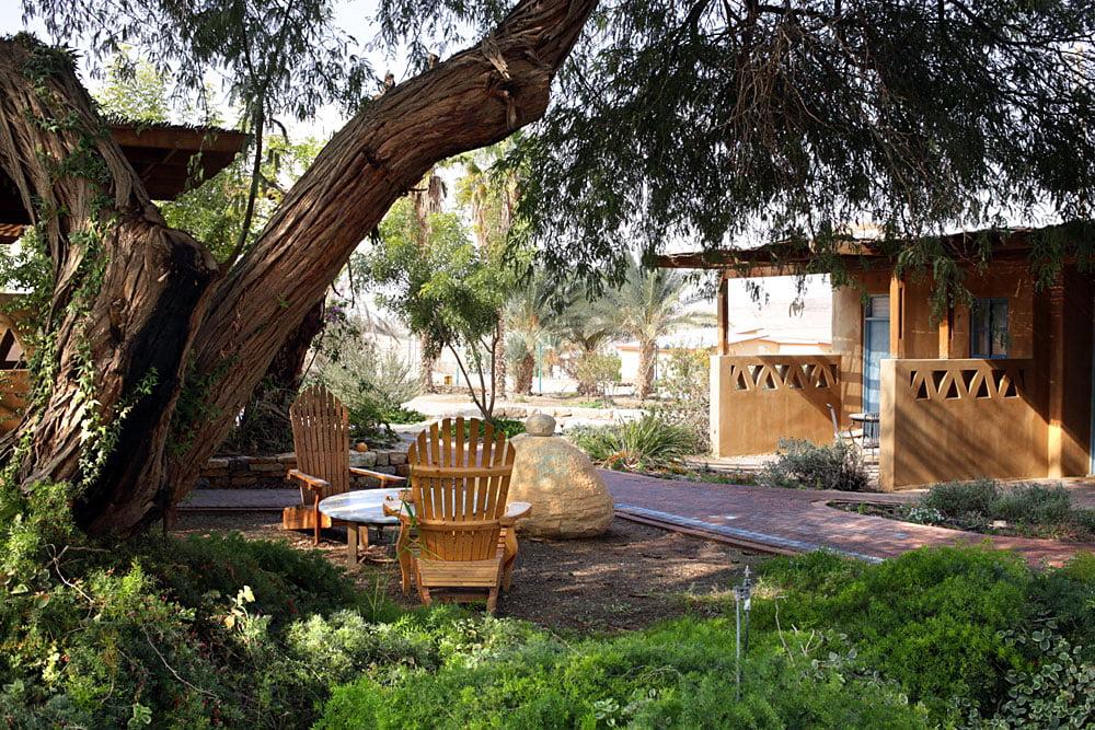 A guesthouse at Kibbutz Neot Semadar. Courtesy Kibbutz Neot Semadar