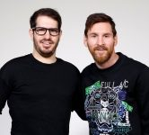 Moshe Hogeg and Lionel Messi