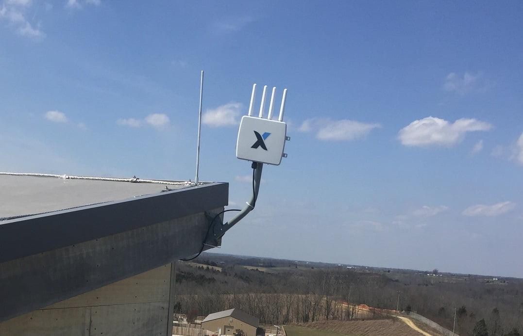 A Convexum sensor installed on a US facility. Courtesy of Convexum