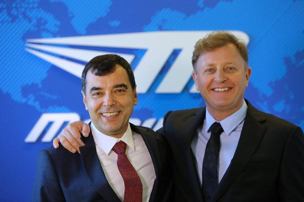 Mobileye founders Amnon Shashua and Ziv Aviram. Courtesy