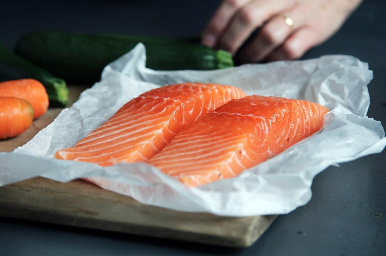 Salmon filets. Photo by Caroline Attwood on Unsplash