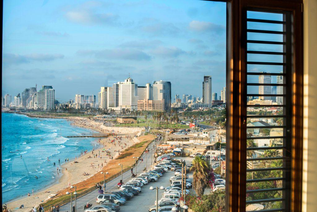 The view from the Setai Tel Aviv. Photo via Setai Tel Aviv website