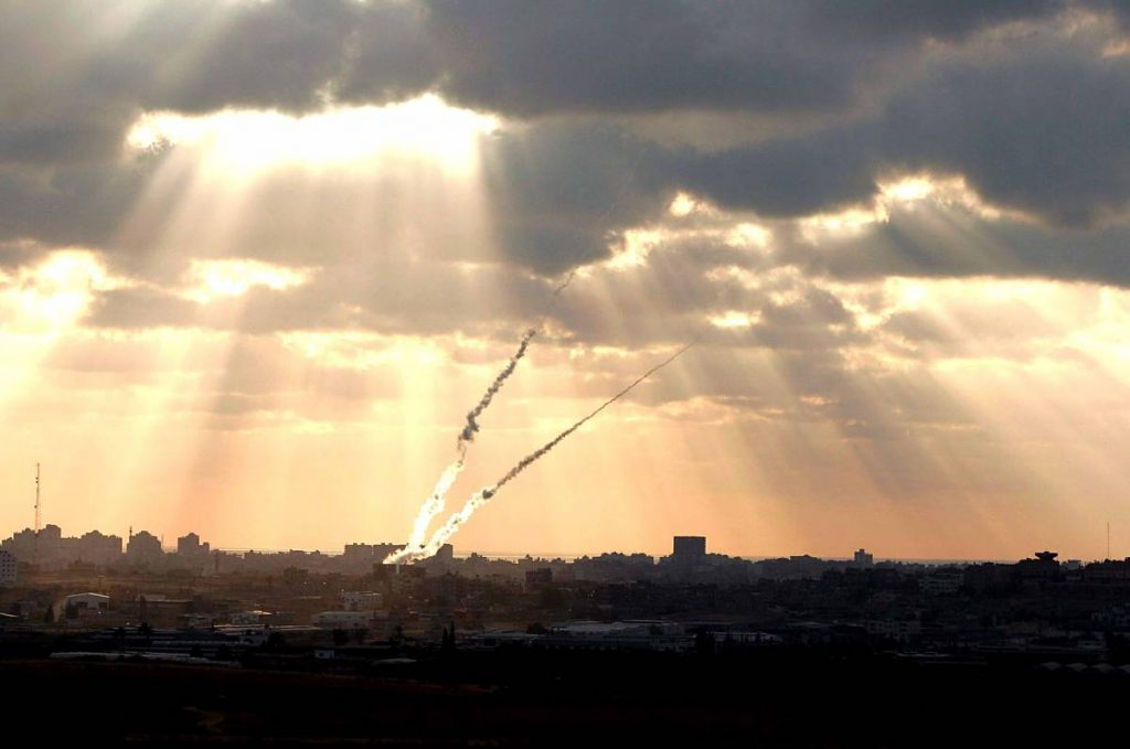 Rockets launched from Gaza into Israel, in 2009. Photo via tipinfo on Flickr