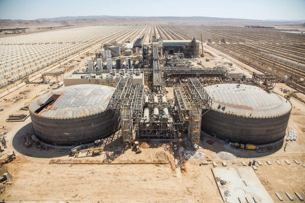 The Negev Energy plant. Courtesy of Negev Energy