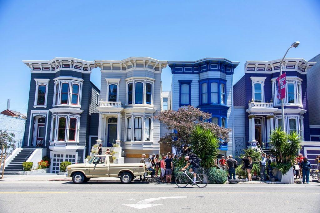 San Francisco homes. Photo by Sam Beasley on Unsplash