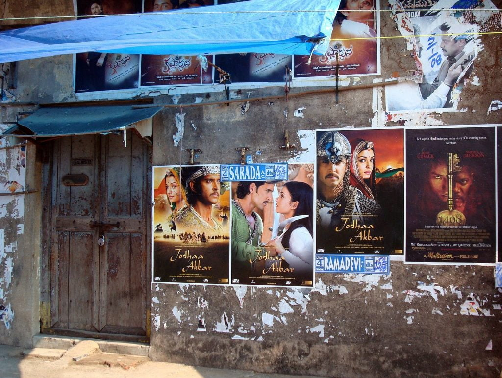 Posters for Indian films. Photo via Pixabay