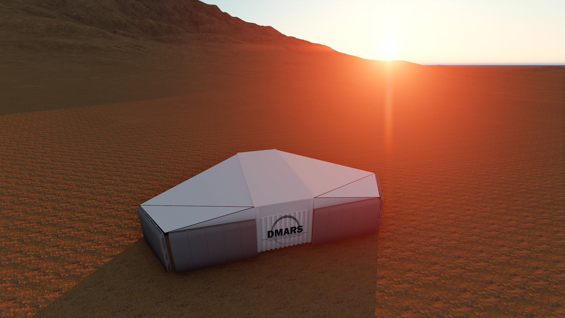 The Desert Mars Analog Ramon Station will be located near Mitzpe Ramon. Courtesy: DMars
