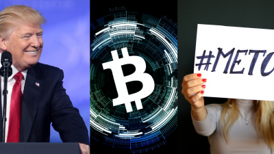 Donald Trump, Bitcoin, #MeToo