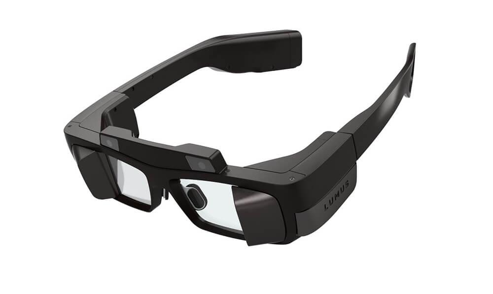 Lumus AR eyeglasses. Courtesy by Lumus
