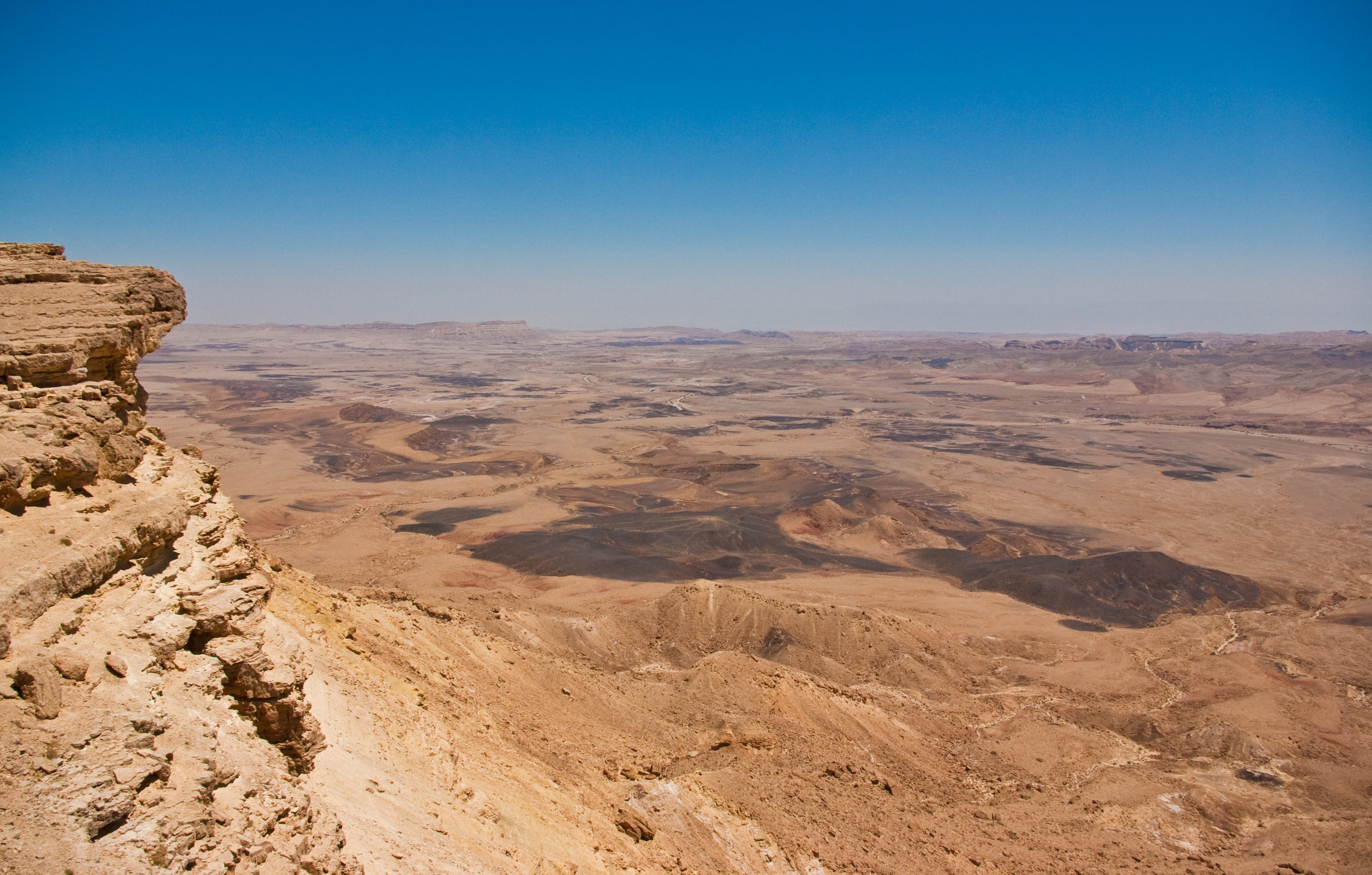 Mitzpe Ramon area was chosen as the region for this simulation center because of its similarities to Mars. Creative Commons