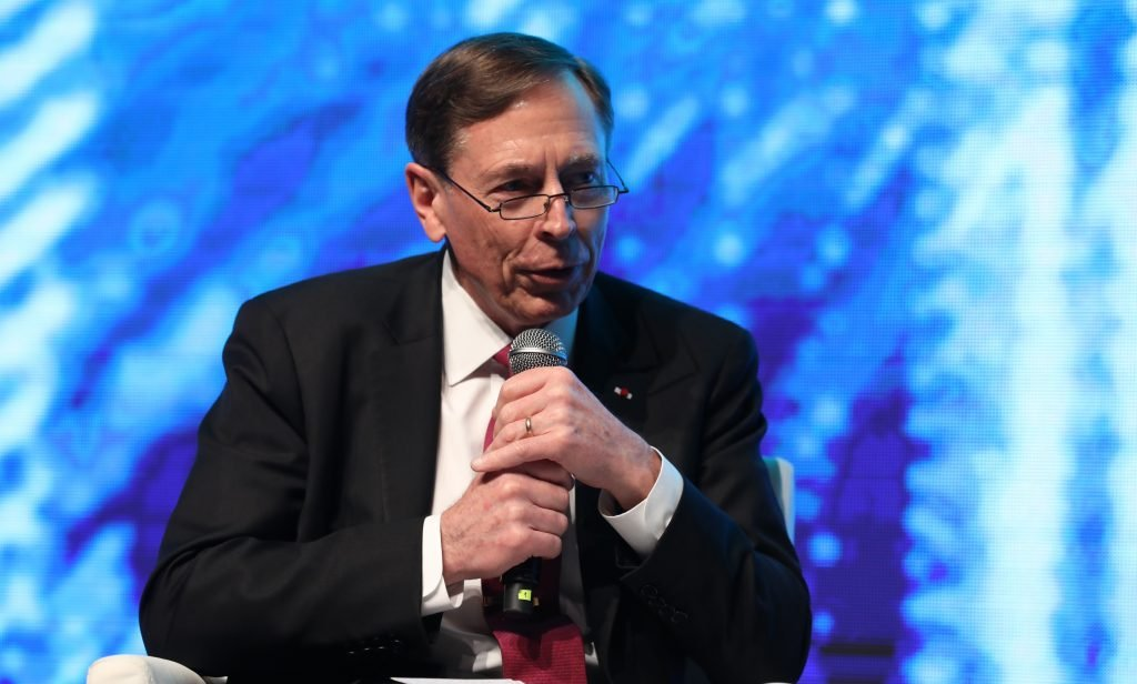 Former CIA Director David H. Petraeus at CyberTech 2018 in Tel Aviv, January 30, 2018. Photo by Gilad Cavalerchic